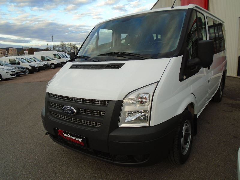 ford transit kombi 300cp 2 2 tdci 100ch 9 places d occasion remiremont remiremont automobiles. Black Bedroom Furniture Sets. Home Design Ideas