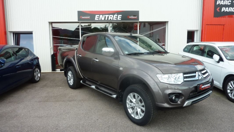 Photo 5 de l'offre de MITSUBISHI L200 2.5 TD 178 DOUBLE CAB INTENSE à 23995€ chez Remiremont automobiles