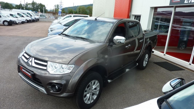 Photo 12 de l'offre de MITSUBISHI L200 2.5 TD 178 DOUBLE CAB INTENSE à 23995€ chez Remiremont automobiles