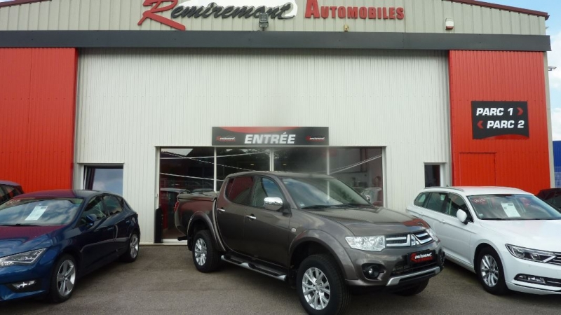 Photo 1 de l'offre de MITSUBISHI L200 2.5 TD 178 DOUBLE CAB INTENSE à 22995€ chez Remiremont automobiles