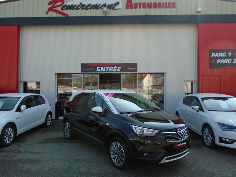 Opel CROSSLAND X 1.2 TURBO 110CH ECOTEC INNOVATION Essence NOIR Occasion à vendre
