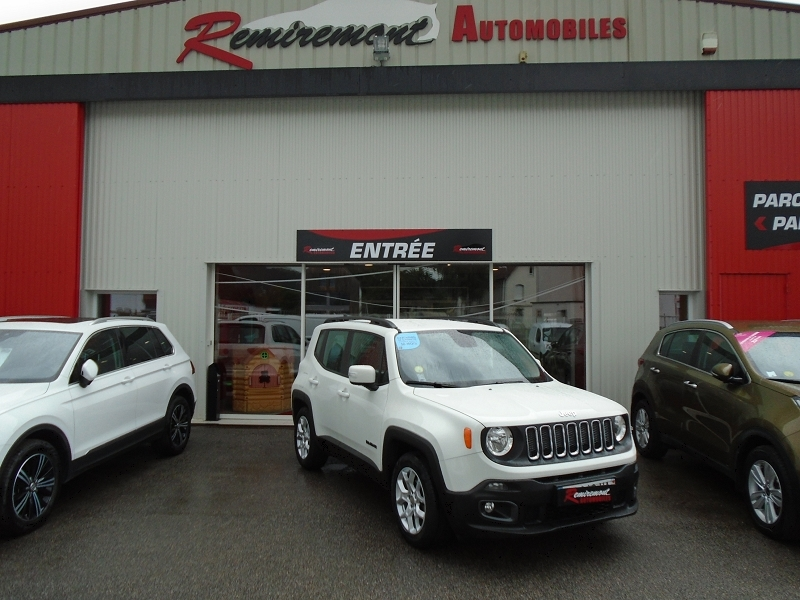 Jeep RENEGADE 1.6 MULTIJET S&S 120CH LONGITUDE BUSINESS Diesel BLANC Occasion à vendre