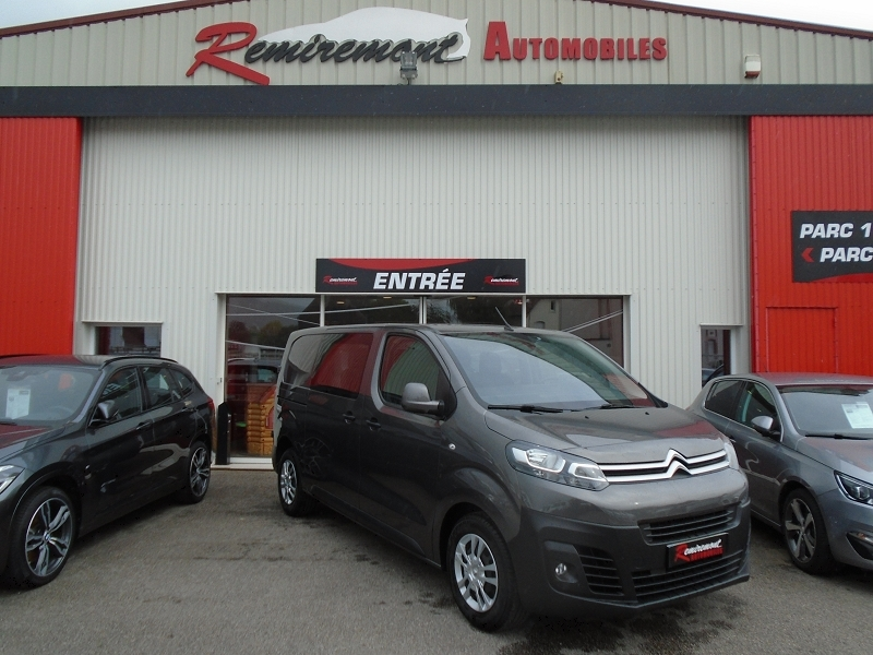 Photo 1 de l'offre de CITROEN JUMPY FG M 2.0 BLUEHDI 120CH CABINE APPROFONDIE BUSINESS S&S à 21995€ chez Remiremont automobiles
