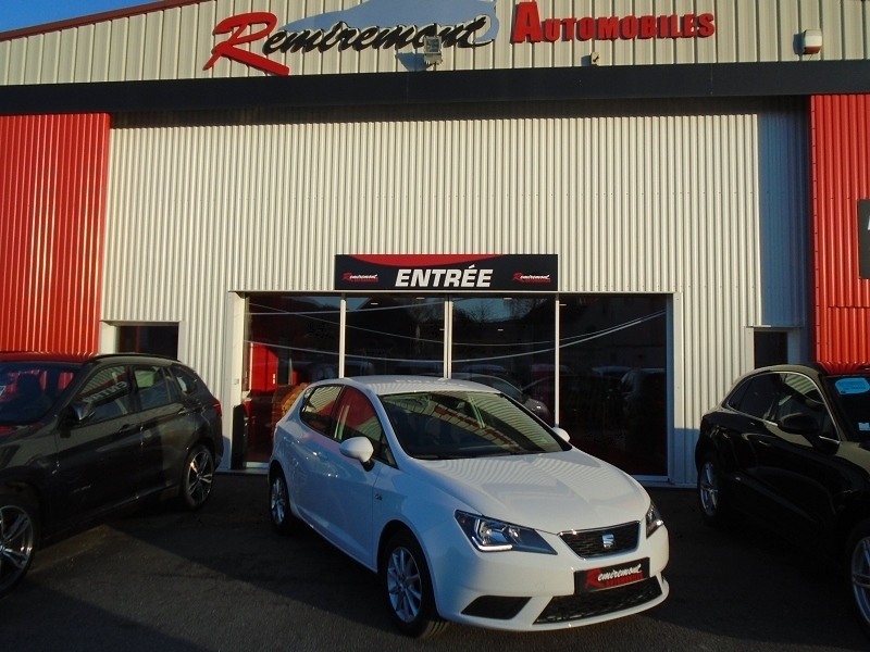 Seat IBIZA 1.4 TDI 75CH STYLE BUSINESS NAVI START/STOP ECOMOTIVE Diesel BLANC Occasion à vendre