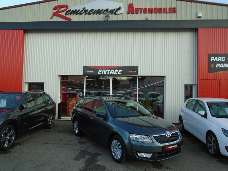 Skoda OCTAVIA BREAK 1.6 TDI 110CH CR FAP GREEN TEC AMBITION Diesel GRIS Occasion à vendre