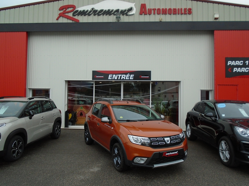 Dacia SANDERO 1.5 DCI 90CH STEPWAY EASY-R Diesel ORANGE Occasion à vendre