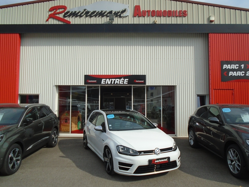 Volkswagen GOLF VII 2.0 TSI 300CH BLUEMOTION TECHNOLOGY R 4MOTION 5P Essence BLANC Occasion à vendre