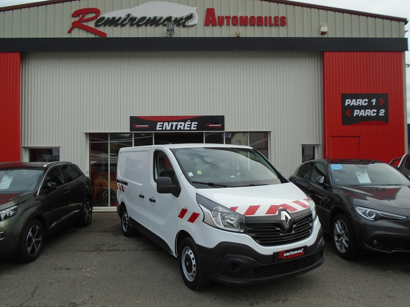 Renault TRAFIC III FG L1H1 1000 1.6 DCI 115CH CONFORT Diesel BLANC Occasion à vendre