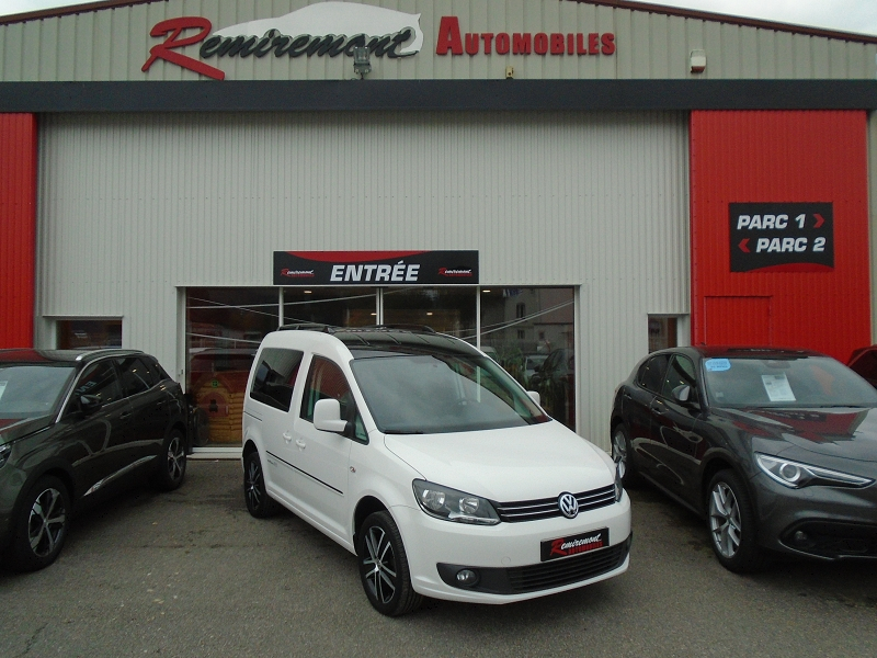 Volkswagen CADDY 1.6 TDI 102CH BLUEMOTION TECHNOLOGY EDITION 30 Diesel BLANC Occasion à vendre