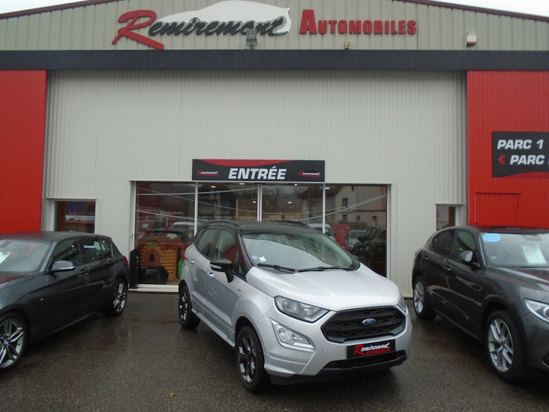 Ford ECOSPORT 1.0 ECOBOOST 125CH ST-LINE EURO6.2 Essence GRIS  Occasion à vendre