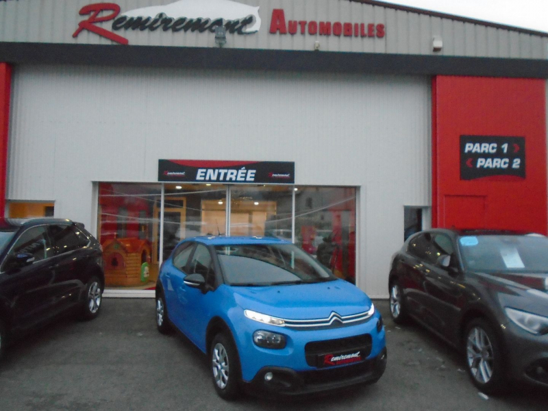 Citroen C3 BLUEHDI 100CH FEEL BUSINESS S&S Diesel BLEU  Occasion à vendre