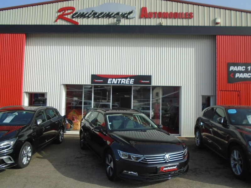 Volkswagen PASSAT SW 1.6 TDI 120CH BLUEMOTION BLUEMOTION BUSINESS Diesel NOIR Occasion à vendre